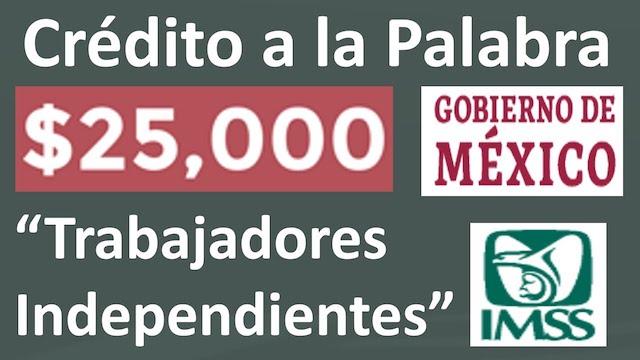 Crédito Solidario para trabajadores independientes