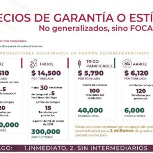 Programa precios de garantía