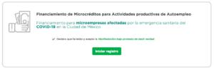 Crédito a micro y pequeñas empresas de la CDMX