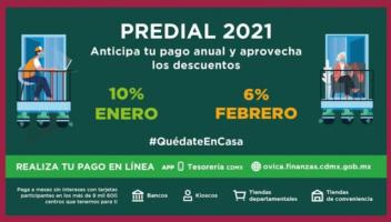 Descuentos en Predial, Agua y Tenencia en CDMX 2021