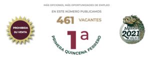 Ofertas de empleo en CDMX Febrero 2021