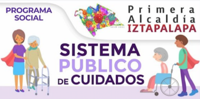 Apoyo económico a cuidadores en Iztapalapa 2021