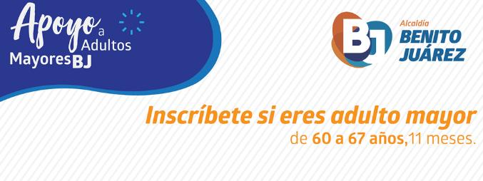 Apoyo a Personas Adultas Mayores en Benito Juárez 2021