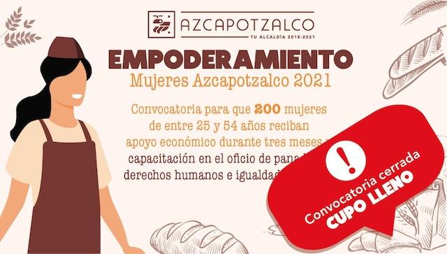Programa Empoderamiento Mujeres Azcapotzalco 2021